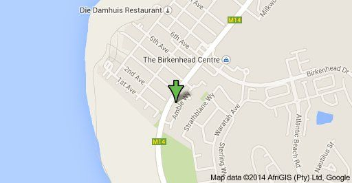 Map 13 Arniston Melkbosstrand in Melkbosstrand  Blaauwberg  Cape Town  Western Cape  South Africa