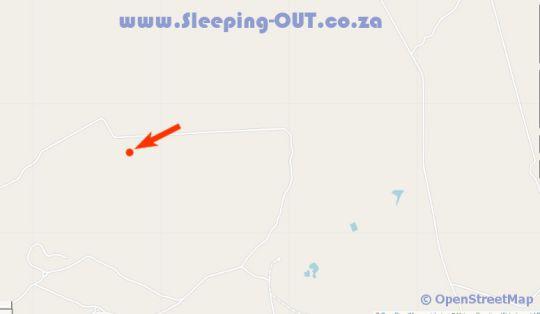 Map Kwafubesi Tented Safari Camp in Bela Bela  Bushveld  Limpopo  South Africa
