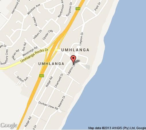 Map 304 Lighthouse Mall in Umhlanga Rocks  Umhlanga  Northern Suburbs (DBN)  Durban and Surrounds  KwaZulu Natal  South Africa