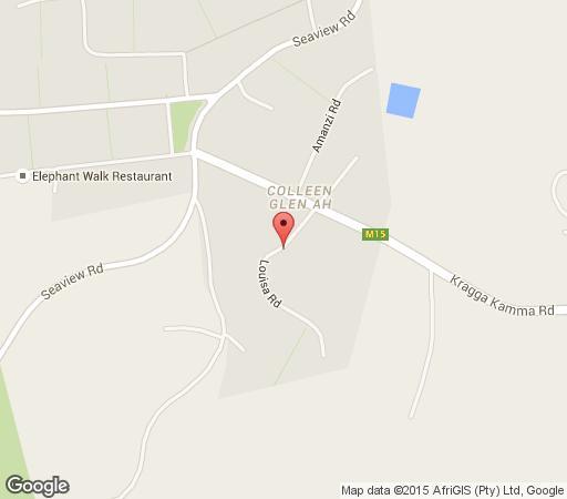 Map Little Louisa in Colleen Glen  Port Elizabeth  Cacadu (Sarah Baartman)  Eastern Cape  South Africa
