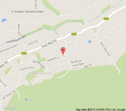 Map Rose Manor in Hout Bay  Atlantic Seaboard  Cape Town  Western Cape  South Africa