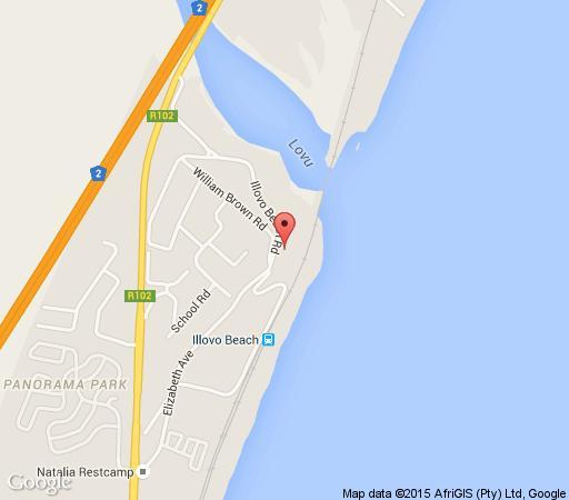Map 5 La Mer in Amanzimtoti  South Coast (KZN)  KwaZulu Natal  South Africa