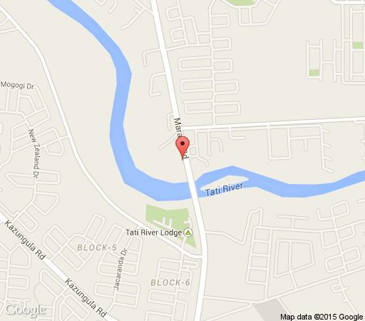Map Kondwane Boutique Hotel in Francistown  Botswana