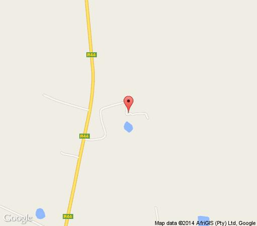 Map Black Pearl Cottage in Paarl  Cape Winelands  Western Cape  South Africa