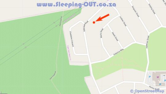Map Camu-Camu in Durbanville  Northern Suburbs (CPT)  Cape Town  Western Cape  South Africa