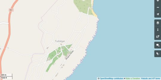 Map Effingham Parade Holiday Home in Trafalgar  South Coast (KZN)  KwaZulu Natal  South Africa