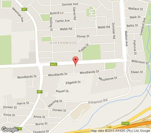 Map Queensrest in Queenswood  Moot  Pretoria / Tshwane  Gauteng  South Africa