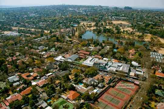 Map Oscar & Michelle Cottages in Parkview  Northcliff/Rosebank  Johannesburg  Gauteng  South Africa