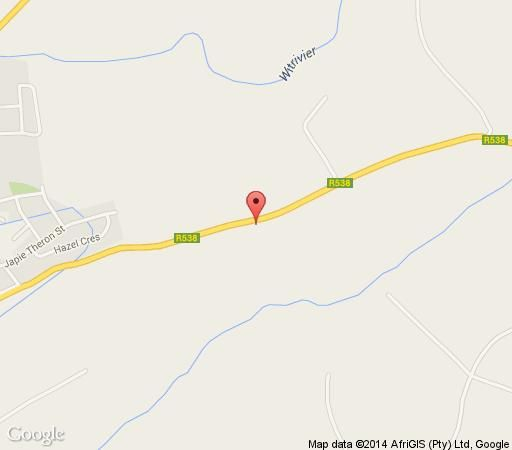 Map Karula Hotel in White River  The Panorama  Mpumalanga  South Africa