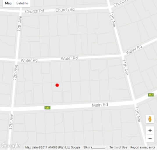 Map The Hub Boutique Hotel in Walmer  Port Elizabeth  Cacadu (Sarah Baartman)  Eastern Cape  South Africa