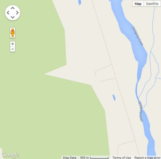Map Elephant Leisure Resort in Citrusdal  West Coast (WC)  Western Cape  South Africa