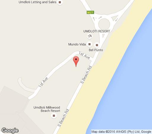 Map No 25 Umdloti in Umdloti  North Coast (KZN)  KwaZulu Natal  South Africa