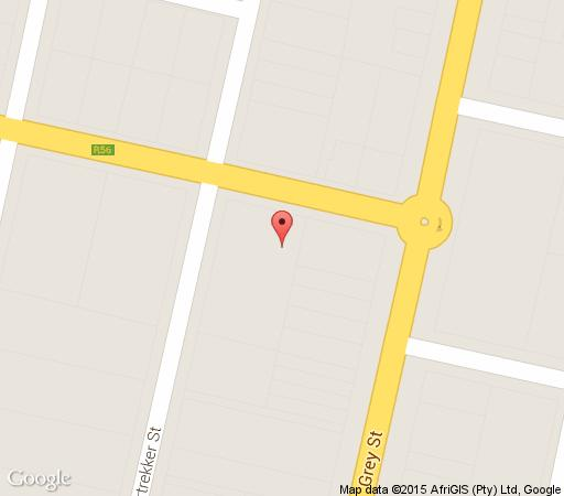 Map The Forecourt B&B in Dordrecht  Stormberg District  Eastern Cape  South Africa