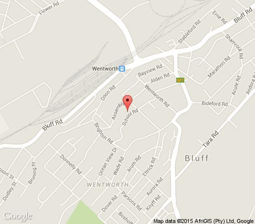 Map Casa on the Bluff in Bluff  Durban  Durban and Surrounds  KwaZulu Natal  South Africa