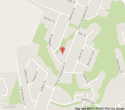 Map Casa Tomar in Nelspruit  Lowveld  Mpumalanga  South Africa