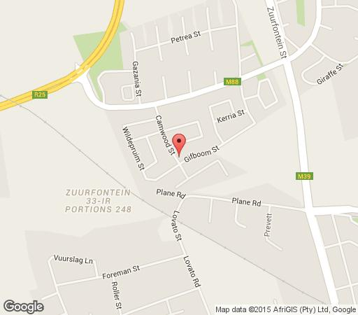 Map Moshitametsi in Kempton Park  Ekurhuleni (East Rand)  Gauteng  South Africa