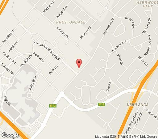 Map 306 One on Herwood in Umhlanga Ridge  Umhlanga  Northern Suburbs (DBN)  Durban and Surrounds  KwaZulu Natal  South Africa