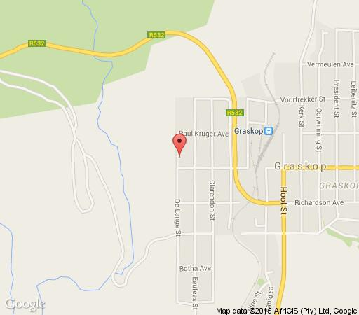 Map Linga Longa Guesthouse in Graskop  The Panorama  Mpumalanga  South Africa