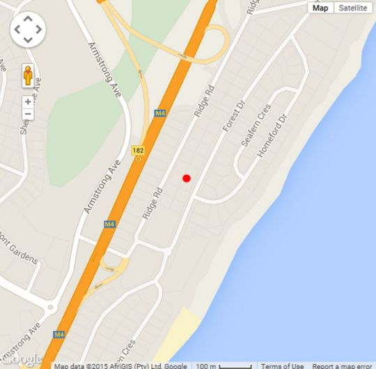 Map Bonjour B&B in La Lucia  Northern Suburbs (DBN)  Durban and Surrounds  KwaZulu Natal  South Africa