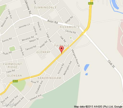 Map San Vito in Glenhazel  Ekurhuleni (East Rand)  Gauteng  South Africa