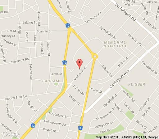 Map 44 Memorial Manor in Kimberley  Diamond Fields  Northern Cape  South Africa