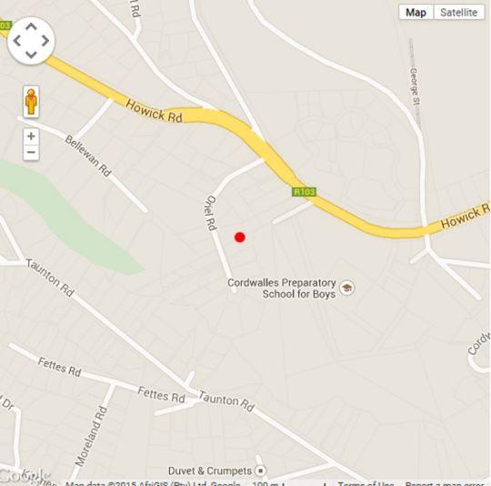Map A Bit of Heaven in Wembley  Pietermaritzburg  Midlands  KwaZulu Natal  South Africa