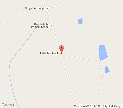 Map Little Troutbeck in Dullstroom  Highlands  Mpumalanga  South Africa