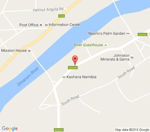 Map Omaruru Guesthouse in Omaruru  Erongo  Namibia