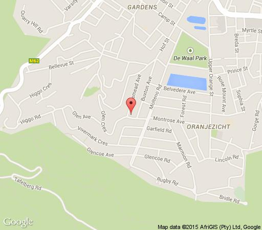 Map Ateljee in Oranjezicht  City Bowl  Cape Town  Western Cape  South Africa