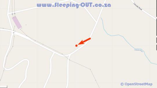 Map De Novo Lodge in Port Edward  South Coast (KZN)  KwaZulu Natal  South Africa