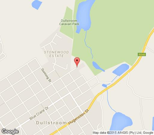 Map Fox & Squirrel in Dullstroom  Highlands  Mpumalanga  South Africa