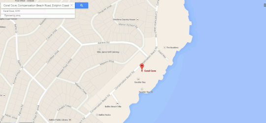 Map Flamenco Accommodation in Ballito  North Coast (KZN)  KwaZulu Natal  South Africa