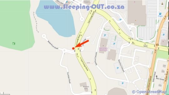 Map Cascades 204 in Bellville  Northern Suburbs (CPT)  Cape Town  Western Cape  South Africa