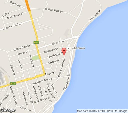Map The Hampton in East London (Central)  East London  Amatole  Eastern Cape  South Africa