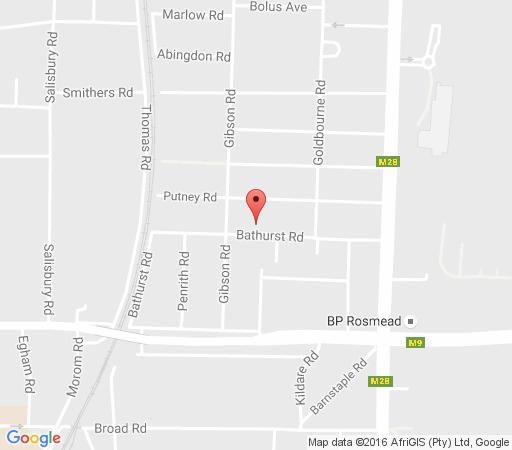 Map Bathurst Mews in Kenilworth  Southern Suburbs (CPT)  Cape Town  Western Cape  South Africa