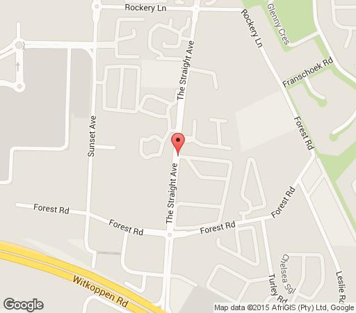 Map  Lonehill Village Estate in Lonehill  Sandton  Johannesburg  Gauteng  South Africa