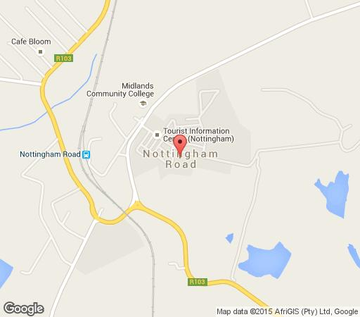 Map Lake Lintrose Cottages in Nottingham Road  Midlands  KwaZulu Natal  South Africa