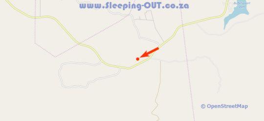 Map Kumbagana Game Lodge in Rustenburg  Bojanala  North West  South Africa