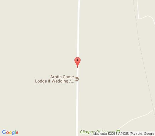 Map Arotin Game Lodge in Brits  Bojanala  North West  South Africa