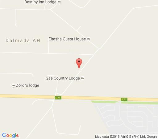 Map Silver Exclusive Lodge in Polokwane  Capricorn  Limpopo  South Africa