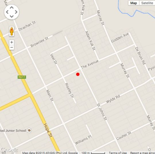 Map La Teranga BnB in Kokstad  East Griqualand  KwaZulu Natal  South Africa