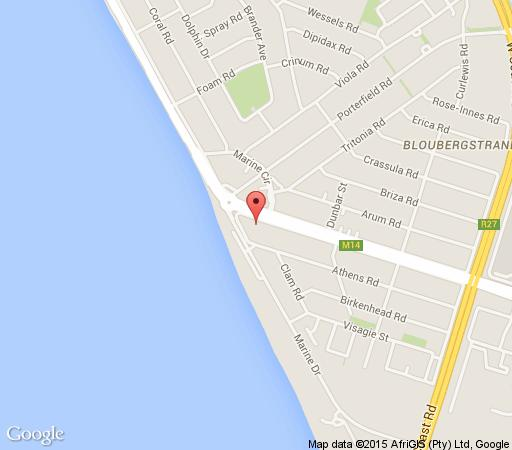 Map 105 Horizon Bay in Bloubergstrand  Blaauwberg  Cape Town  Western Cape  South Africa