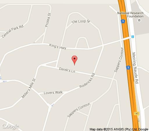 Map Funkey Flat in Lynnwood  Pretoria East  Pretoria / Tshwane  Gauteng  South Africa