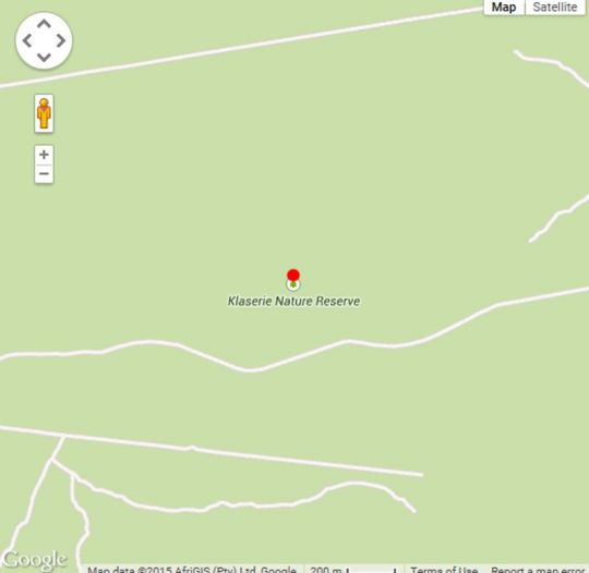 Map  Fleur de Lys Farm in Hoedspruit  Valley of the Olifants  Limpopo  South Africa