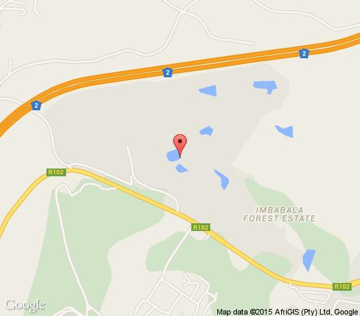 Map Eagle\'s Rest in Pennington  South Coast (KZN)  KwaZulu Natal  South Africa