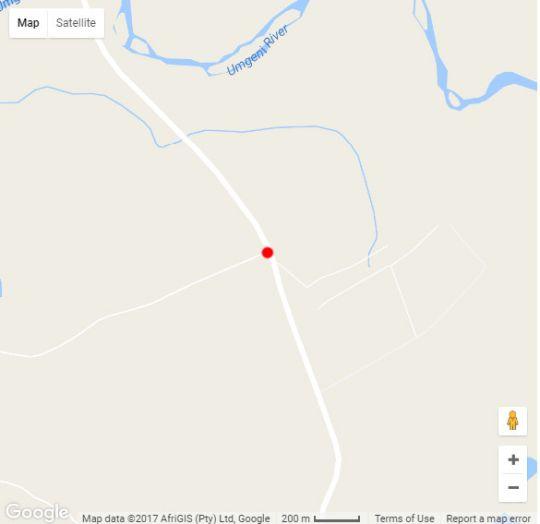 Map Ukuthula Lodge in Pietermaritzburg Central  Pietermaritzburg  Midlands  KwaZulu Natal  South Africa