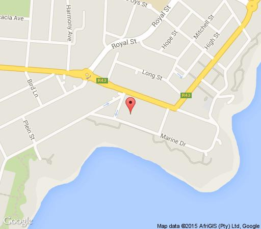 Map  View at 18 in Hermanus  Overberg  Western Cape  South Africa