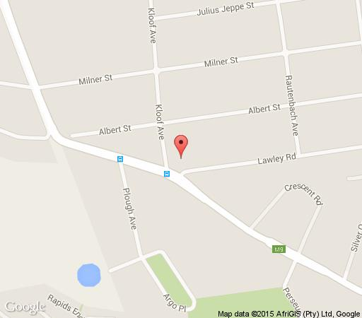 Map Waterhouse Guest Lodges 236/230 Bourke Street in Waterkloof  Pretoria East  Pretoria / Tshwane  Gauteng  South Africa
