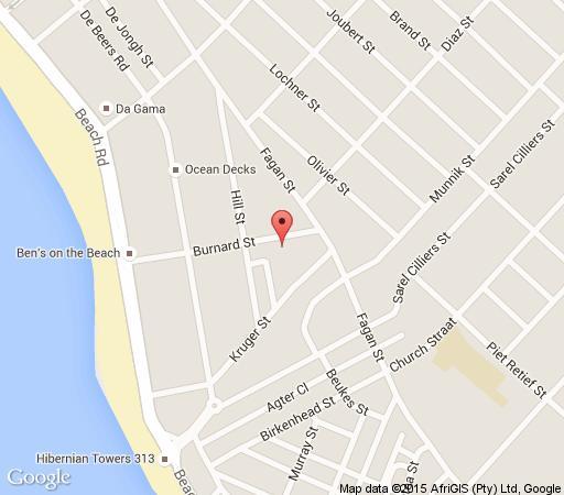 Map  De Nieuwehuisie in Strand  Helderberg  Western Cape  South Africa