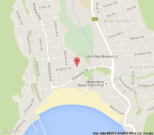 Map  Sea La Vie Self-Catering in Hout Bay  Atlantic Seaboard  Cape Town  Western Cape  South Africa